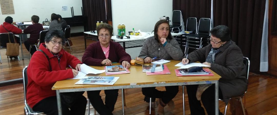 """Proyecto taller literario """"Rescatando nuestro patrimonio cultural en salud """""""
